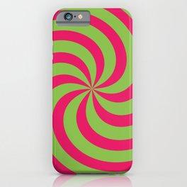 Color Swirl II iPhone Case