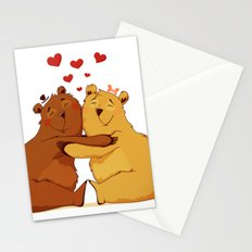 All my love is for you Stationery Cards