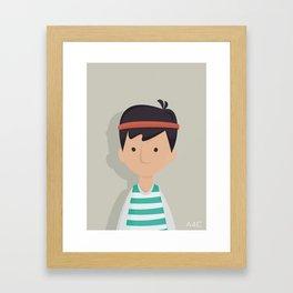 Weston Framed Art Print