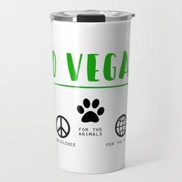 Go Vegan Travel Mug