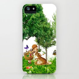 It's Easter Time Mr. Bunny iPhone Case
