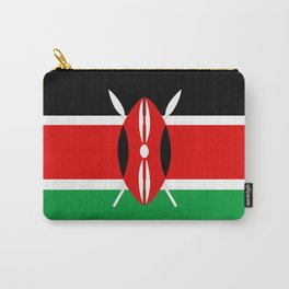 Kenya country flag Carry-All Pouch