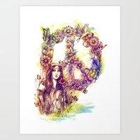 Give Peace a Chance Art Print