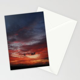 Burning Sky Stationery Cards