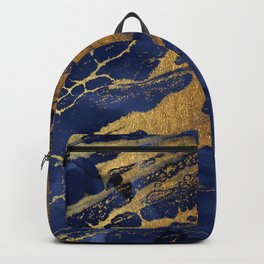 Marbled Cosmic Space Dust Backpack