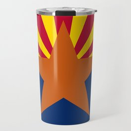 Flag of Arizona Travel Mug