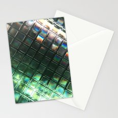 Rainbow pixels Stationery Cards