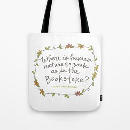 Bookstore Tote Bag