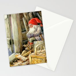 """""""In the Woodshed"""" by Jenny Nystrom Stationery Cards"""