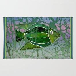 Batik Fish Rug