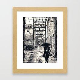Pig Alley Lawrence Framed Art Print