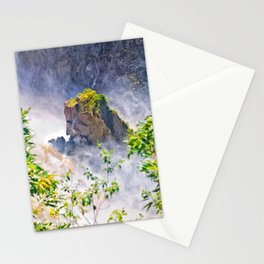 Rock in the falls Stationery Cards