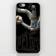 Justice-Planisphere iPhone & iPod Skin