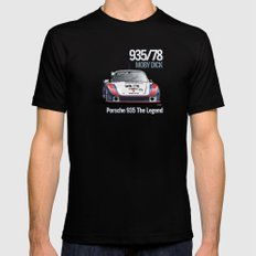 Porsche 935/78 Moby Dick Mens Fitted Tee Black SMALL