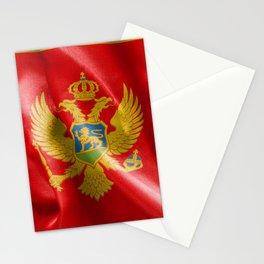 Montenegro Flag Stationery Cards