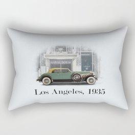 A Duesenberg in Los Angeles Rectangular Pillow