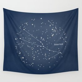 TAURUS - Astronomy Astrology Constellation Wall Tapestry