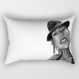 Miss Keys Rectangular Pillow