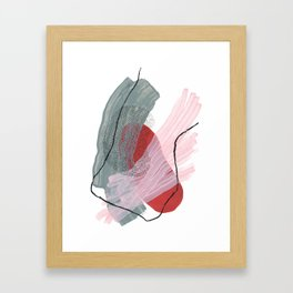 Cotton Candy Framed Art Print