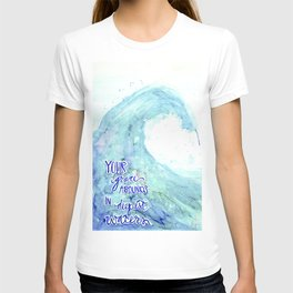 Grace Abounds In Deepest Waters T-shirt