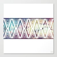 diamonds Canvas Prints featuring Diamonds by Last Call