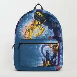 Steampunk Girl Backpack