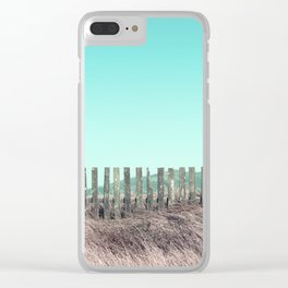 Candy fences Clear iPhone Case