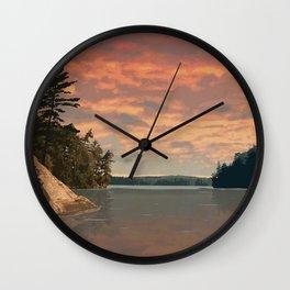 Oastler Lake Provincial Park Wall Clock