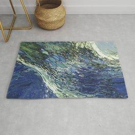 Ebb and Flow Splashing Wave Juul Art Rug