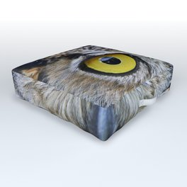 I'm watching you Outdoor Floor Cushion