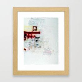 square. Framed Art Print