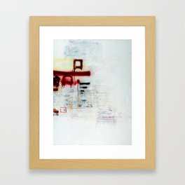 square. Framed Art Print