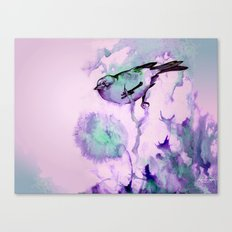 Finch Bird Canvas Print