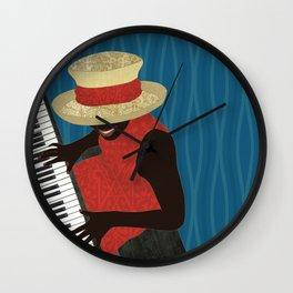 Praise and Worship Piano Player Wall Clock