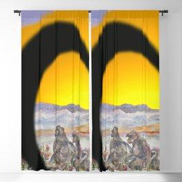 African Sun Family Blackout Curtain