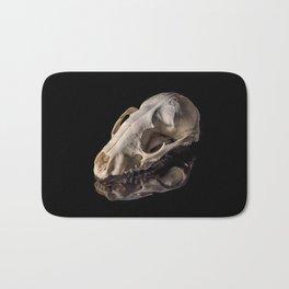 Raccoon Skull Reflection Bath Mat