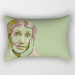 Virginia Woolf Rectangular Pillow