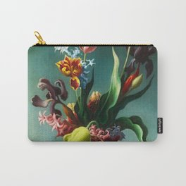 American Masterpiece 'Still Life with Spring Flowers' by Thomas Hart Benton Carry-All Pouch