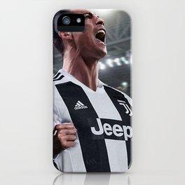 Cristiano Ronaldo Juve CR7 iPhone Case