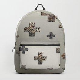 Crosses - Cream Gold Backpack