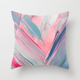 Soft-spoken Throw Pillow