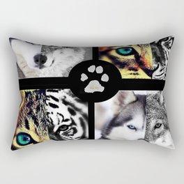 Ancestors Quilt - Pet Version Rectangular Pillow