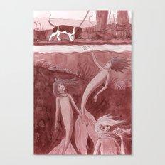Come a little Closer Canvas Print