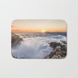 Breathtaking sunset Bath Mat