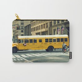 New York school bus Carry-All Pouch