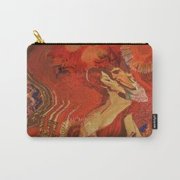 Blurred Lines Carry-All Pouch