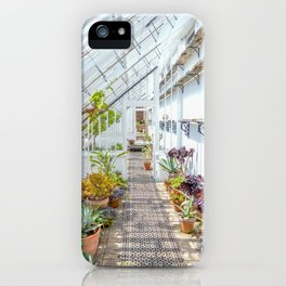 The Lost Gardens of Heligan - Victorian Glass House 2 iPhone Case