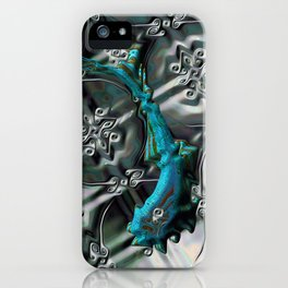 Gnarly Fish iPhone Case