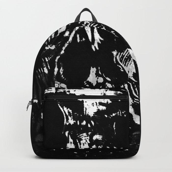 Toxic White Backpack