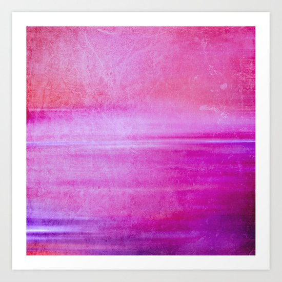 colour infusion I Art Print